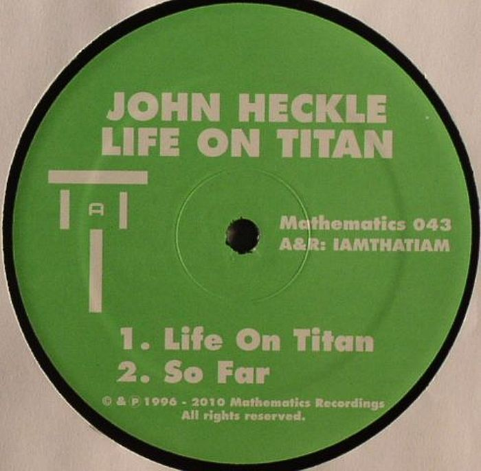 Life on Titan – Mathematics Recordings